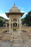 Maharani ki chhatri at Jaipur. stock photography