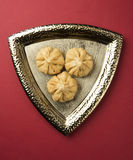 Maharashtrian节日食物, modak 免版税库存照片