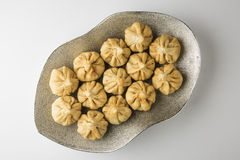Maharashtrian festival food, modak. A sweet dish Royalty Free Stock Photo