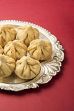 Indian sweet food, modak Royalty Free Stock Images