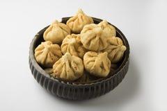Maharashtrian-Festivallebensmittel, modak Lizenzfreies Stockbild