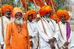 Maharastrian culture and tradition Stock Photography