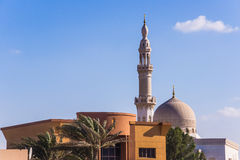 Maharba清真寺在迪拜 免版税库存图片