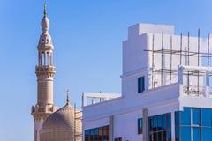 Maharba清真寺在迪拜 库存照片