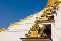 Maharzayde pagoda. Bago. Myanmar. Royalty Free Stock Photography