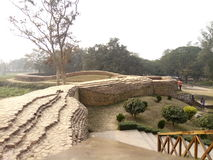 mahastangarh, bogra Fotos de archivo libres de regalías