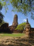 Mahatad de Wat dans Ayutthaya, Thaïlande Image stock