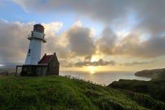 The Mahatao or Tayid lighthouse on the island of Batan, Batanes, Philippines Stock Photo