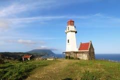 Mahatao or Tayid lighthouse on the island of Batanes Stock Photos