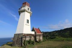 Mahatao or Tayid lighthouse on the island of Batanes - Series 5 Royalty Free Stock Photo