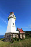 Mahatao or Tayid lighthouse on the island of Batanes - Series 3 Royalty Free Stock Image