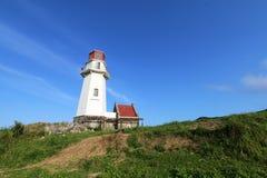Mahatao or Tayid lighthouse on the island of Batanes - Series 4 Royalty Free Stock Image