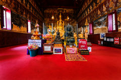 Mahathat寺庙佛丕府 库存图片