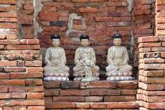 mahathat ayutthaya phra wat Thailand Zdjęcie Stock