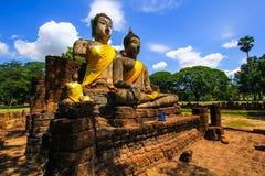 Mahathat di Wat Phra Sri Rattana rachuanwihan Fotografie Stock Libere da Diritti