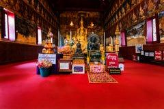 Mahathat Phetchaburi świątynna prowincja Obraz Stock