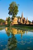 mahathat sukhothai泰国wat 库存图片