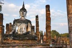mahathat sukhothai泰国wat 库存照片