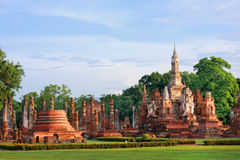 Mahathat temple, Thailand Royalty Free Stock Photography