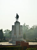 Mahatma Gahdhi statue in the center of Jaipur Royalty Free Stock Photo