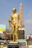 Mahatma Gahdhi statue in Mysore on India Royalty Free Stock Photography
