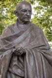 Mahatma Gandhi雕象 免版税库存图片