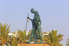 Mahatma Gandhi obrazy stock