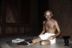 Mahatma Gandhi imágenes de archivo libres de regalías