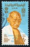 Mahatma Gandhi 免版税库存照片