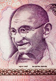 Mahatma Gandhi on Currency Note 2 Royalty Free Stock Image