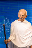 Mahatma Gandhi Figurine At Madame Tussauds Wax Museum Stock Photos