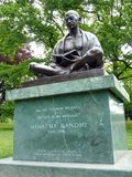 Mahatma Gandhi, Genf, die Schweiz Lizenzfreies Stockbild