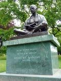 Mahatma Gandhi, Ginebra, Suiza Imagen de archivo libre de regalías