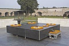 Mahatma Gandhi memorial. JANUARY 20, 2015, NEW DELHI, INDIA - Mahatma Gandhi memorial at Rajghat Stock Image