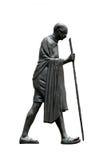 Mahatma Gandhi, procedere di dandi Fotografia Stock