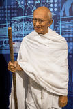 Mahatma Gandhi. Wax figure in Madame Tussauds museum Royalty Free Stock Image
