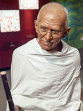 Mahatma Gandhi wax statue. At the famous Madame Tussaud's museum in Bangkok, Thailand Stock Images