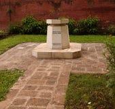 Mahatma- Gandhidenkmal Stockbild