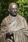 Mahatma- Gandhistatue in London Lizenzfreies Stockfoto
