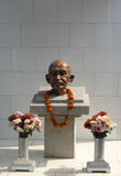 Mahatma Ghandi memorial Royalty Free Stock Images