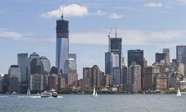 Mahattan en Nueva York Fotografía de archivo