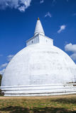 Mahatupa or Ruwanweliseya big Dagoba in Anuradhapura, Unesco, Sr Royalty Free Stock Photos