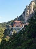 Mahavira Hall auf Jiuhua-Berg Lizenzfreie Stockfotos