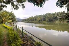 Mahaweli河,斯里兰卡 免版税库存照片