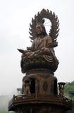 Mahayana Bodhisattva Arkivbild