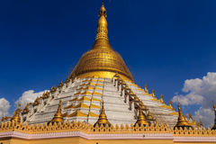 Mahazedi塔,在缅甸(Burmar)的Bago 库存图片