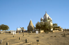 Mahdi's Tomb in Omdurman Stock Images