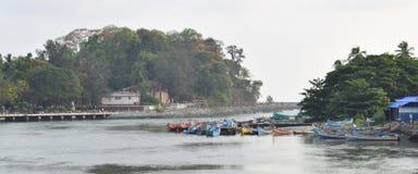 Mahe, Ινδία Στοκ Εικόνες