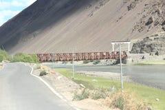 Mahe Bridge Ladakh-1. stock image