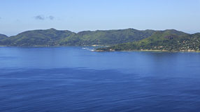 Mahe Island in the Indian Ocean. Royalty Free Stock Photography